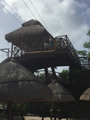 Carnival Fantasy-Keiton Zip Lining-Lost Mayan Kingdom Adventure Park Excursion-Costa Maya
