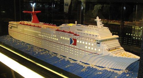 Carnival Fantasy Lego Ship