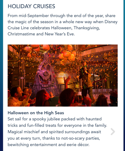 Disney's Halloween Cruise