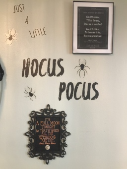 Hocus Pocus Wall Art and Print Outs I Framed