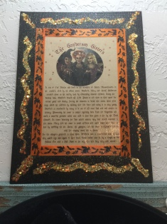 Hocus Pocus Party-DYI Sanderson Sisters Story Wall Decor-Created by Kim