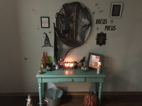 Hocus Pocus Themed Foyer